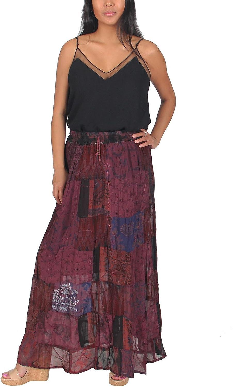 10 PC Indian Vintage Silk Long Dress Bohemian Handmade Hippie Cotton Gypsy Dress