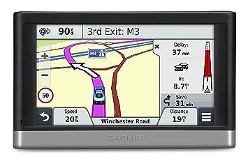 """Garmin Nuvi 2468LMT-D - GPS para coches de 4.3"""", negro (importado"""