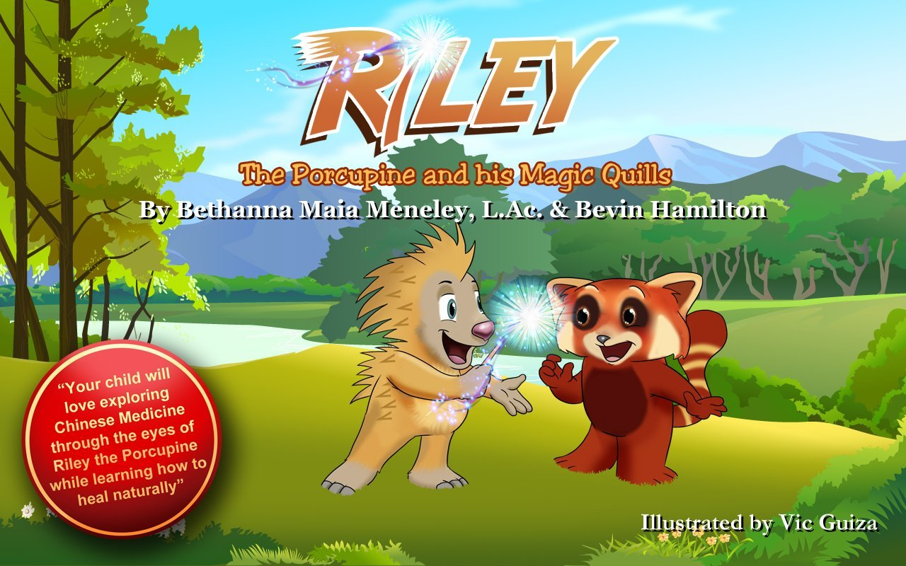 Riley porcupine his magic quills product image
