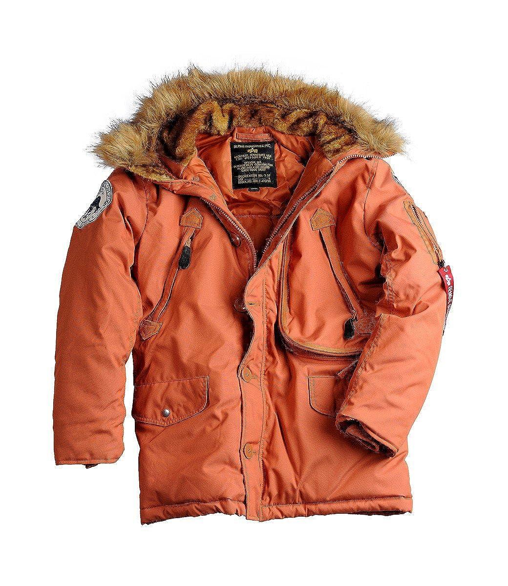 Polar Jacket Parka mit gefütterter Kapuze