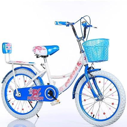Size : 14 inch DUWEN Childrens Bicycle Girl 2-3-4-6-7-8-9-10 Years