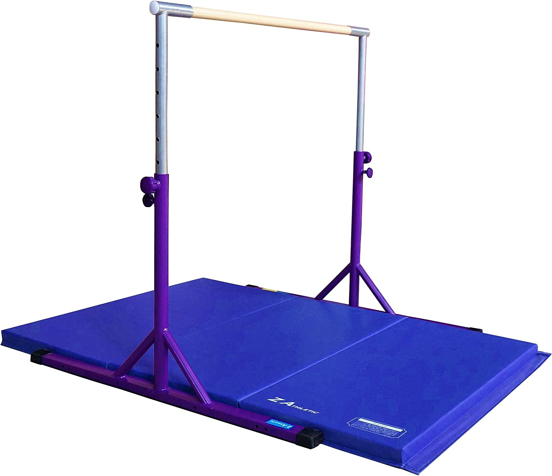 Z Athletic Kip Bar and Gym Mat