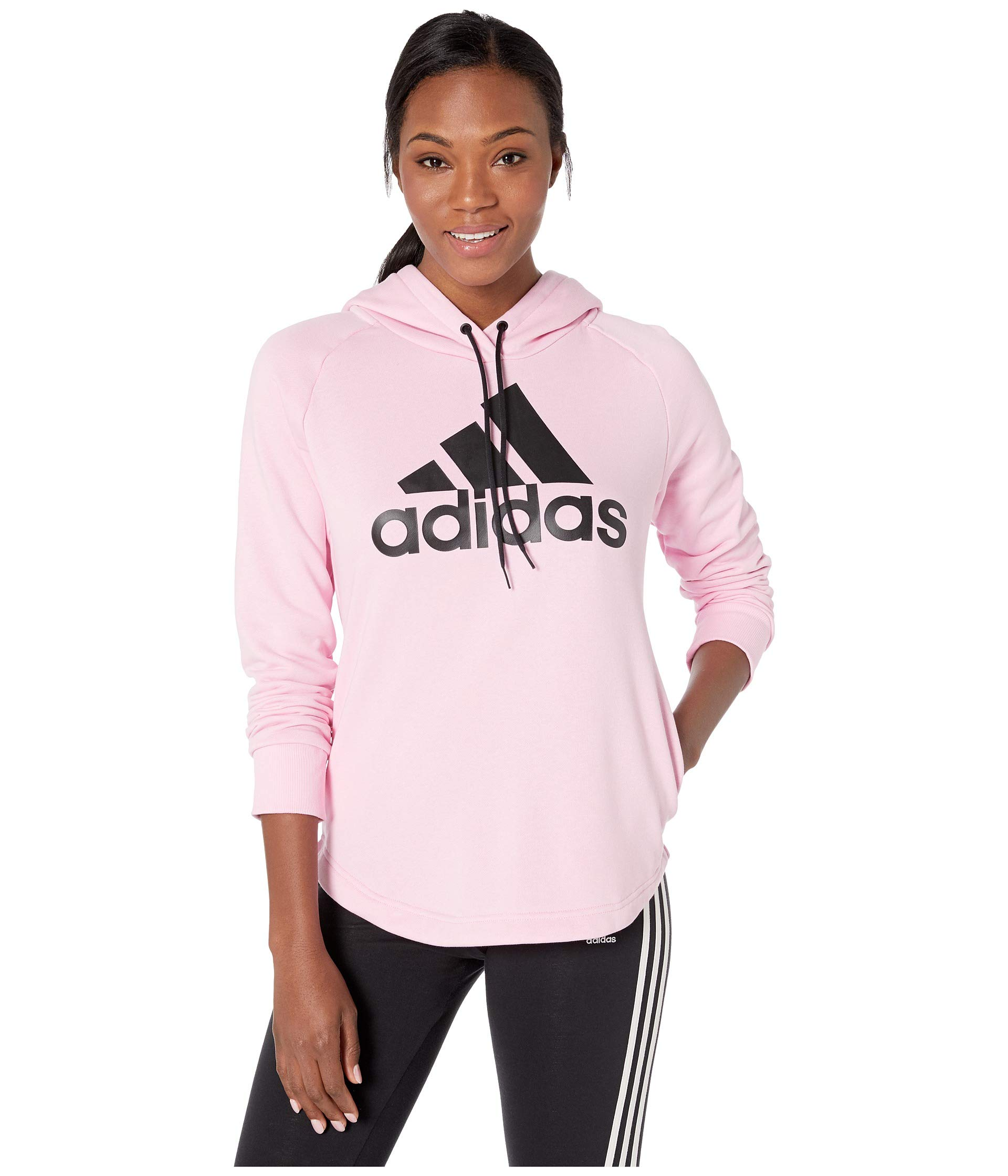 adidas Women's Must Have Hoodie True Pink X-Small