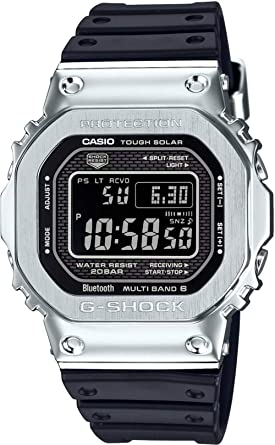 264923b97 Image Unavailable. CASIO G-SHOCK Full Metal Resin Band Bluetooth Watch ...