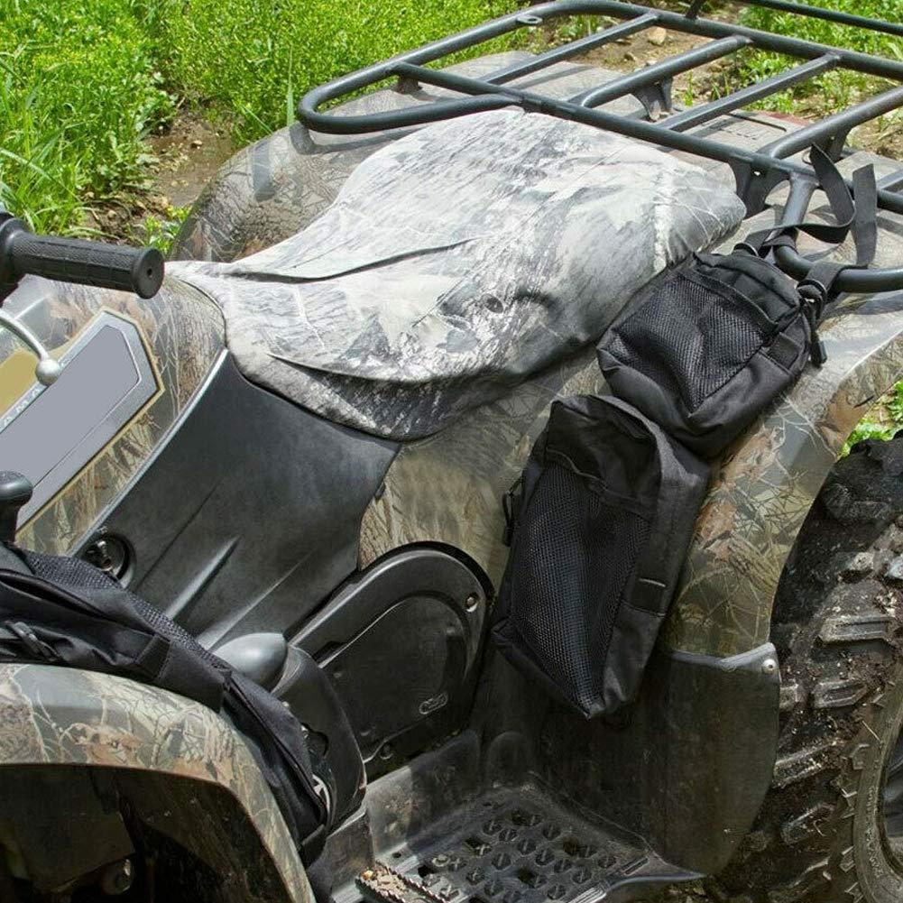 SDGDFXCHN 2X 600D Oxford ATV Fender Taschen ATV Tank Satteltaschen Gep/äckraum Jagdtasche Reiten Fahrrad Gep/äcktasche R/ücksitz Kofferraumtasche Hecktasche