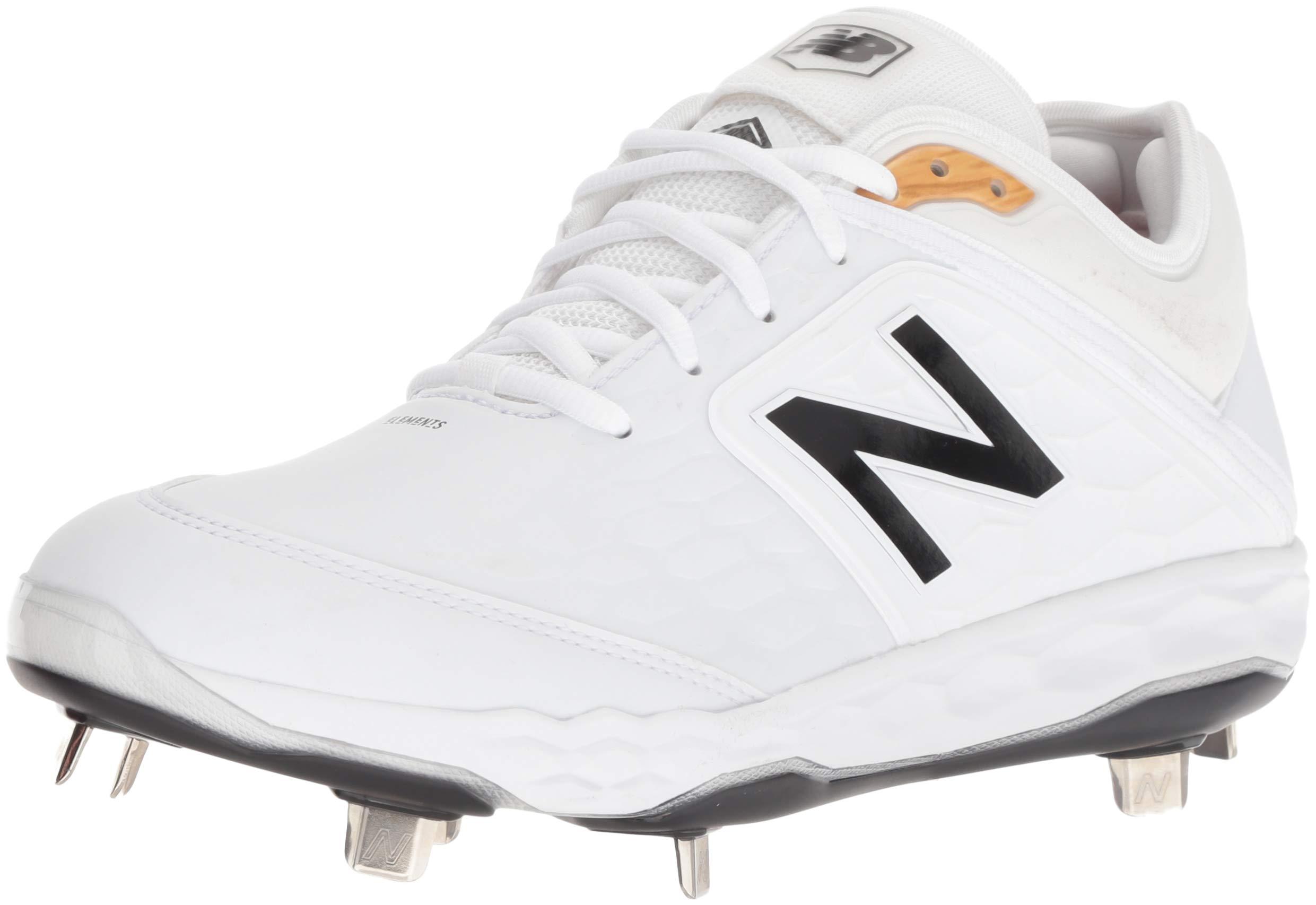 New Balance Men's 3000v4 Baseball Shoe, White, 5 D US