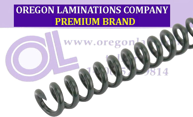 Spiral Binding Coils 6mm 4:1 PMS 627 C Envirokoil Green pk of 100 /¼ x 15-inch Legal