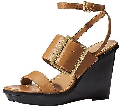 67d805a1c5a4 Calvin Klein Women s PEMBA Wedge Sandal