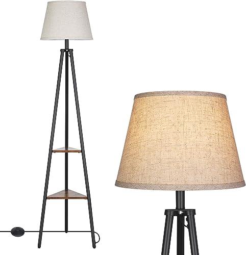 DEWENWILS Industrial Tripod Floor Lamp
