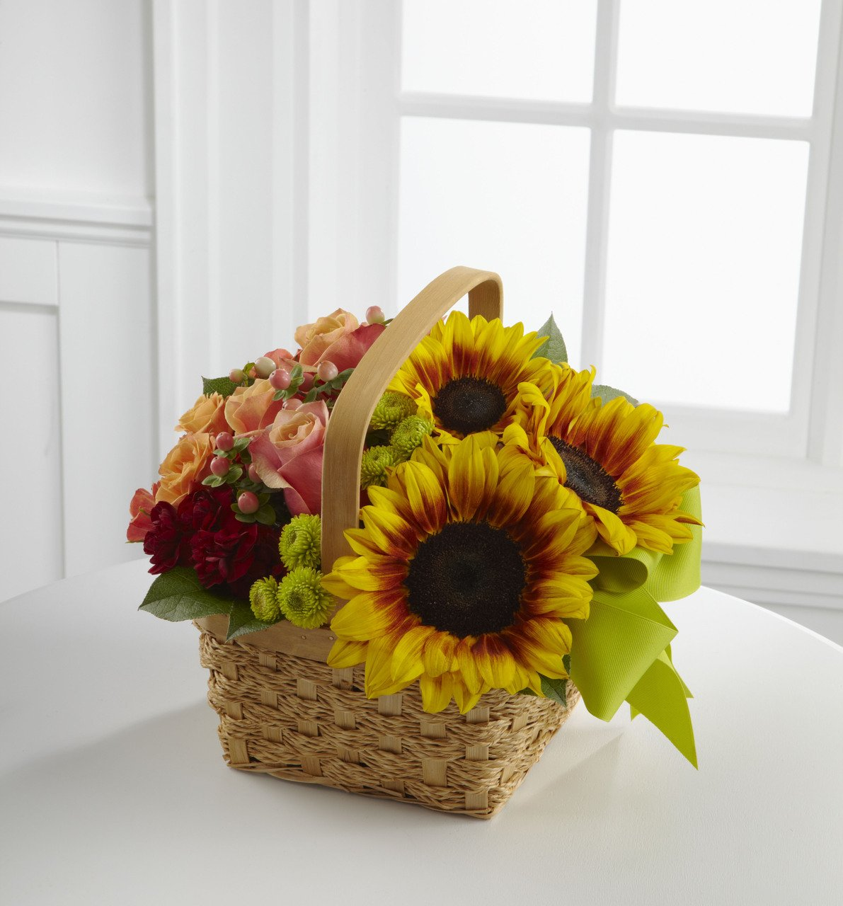 Bright Day Basket - Fresh Flowers Hand Delivered in Albuquerque Area