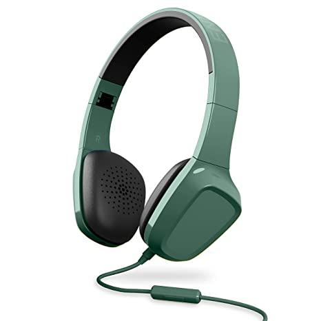 Energy Sistem Headphones 1 - Auriculares con micrófono (Control reproducción, Entrada por Cable,