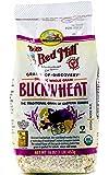 Bob's Red Mill Organic Whole Grain Raw Buckwheat Groats, 16 oz, 2 pk