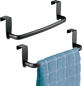 Over Cabinet Strong Steel Towel Bar Rack