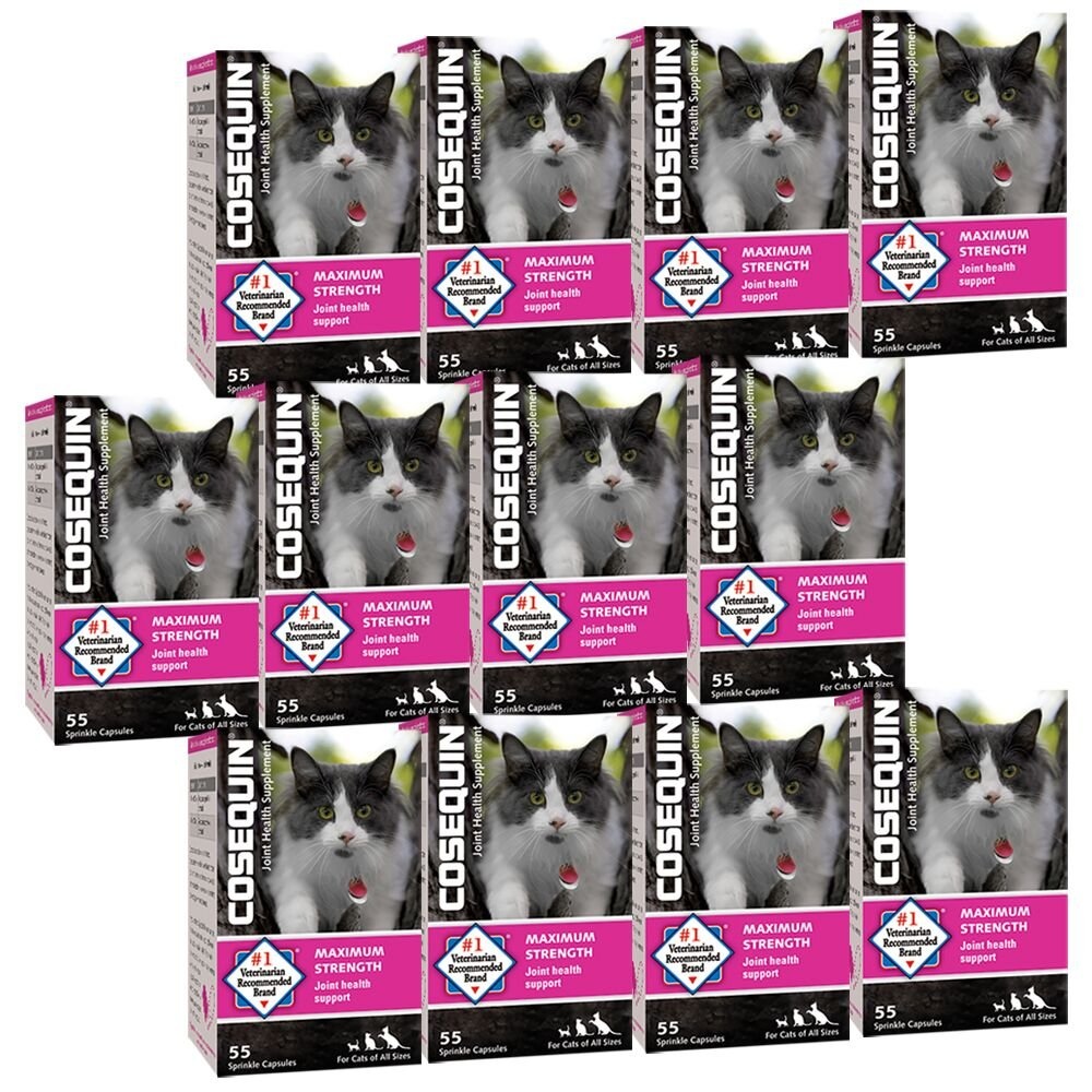 Nutramax 55 Sprinkle Capsules Cosequin for Cats (12 Pack)