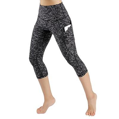 02c05b43338 ODODOS High Waist Out Pocket Yoga Pants Tummy Control Workout ...