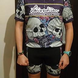 Flying Fish - Traje completo de ciclismo de verano para hombres - Conjunto de camiseta y pantalones cortos acolchados, Hombre, Bianco, XX-Large: Amazon.es: Deportes y aire libre