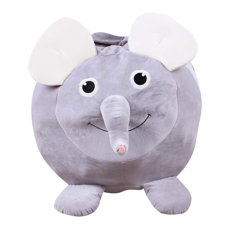 Marvelous Amazon Com Mykubi Stuffed Animal Storage Bean Bag Family Ibusinesslaw Wood Chair Design Ideas Ibusinesslaworg