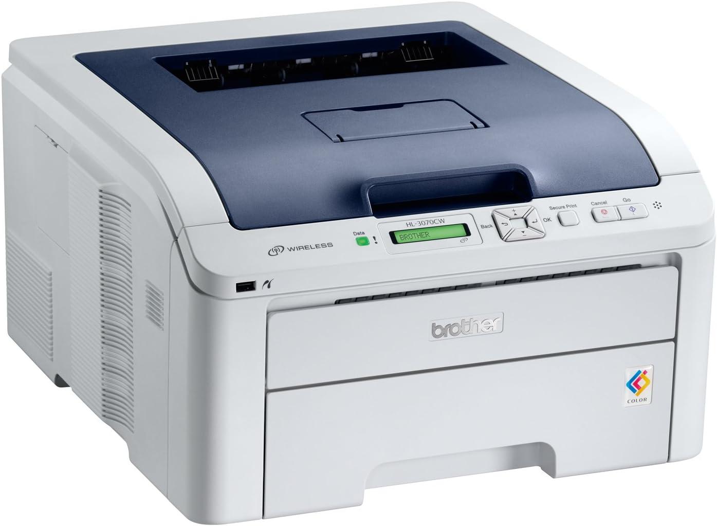 Brother HL3070CW - Impresora láser Color (A4, 16 ppm, WiFi ...