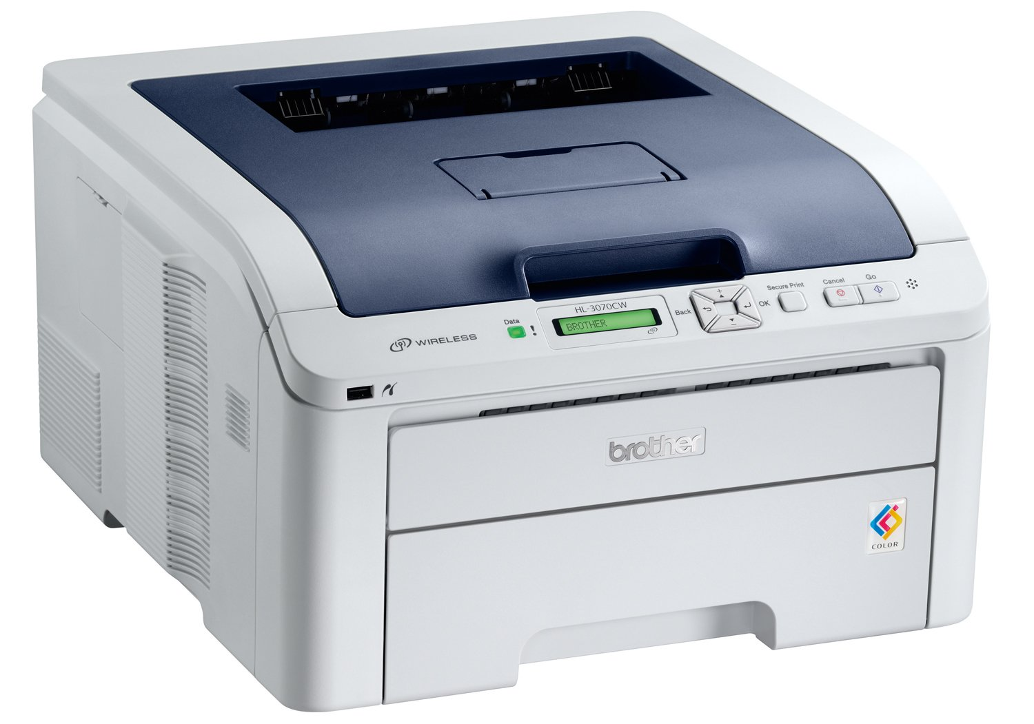 Brother HL3070CW - Impresora láser Color (A4, 16 ppm, WiFi)