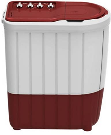 Whirlpool 7 kg Semi-Automatic Top Loading Washing Machine (Superb Atom 70S, Coral Red)