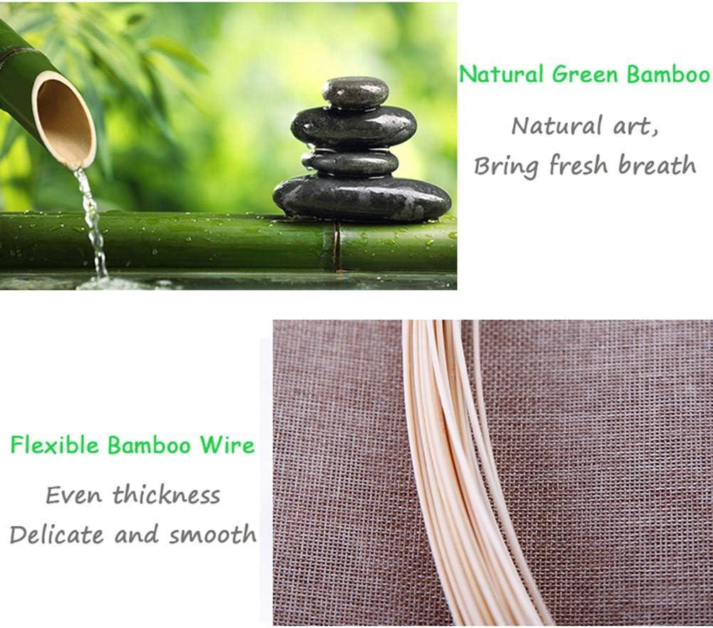 Stores en Bambou Personnalisable Stores en Rouleau Naturels Stores Occultants pour Fen/êtres Stores Romains /à Filtrage De Lumi/ère Naturel//Respirant//Sain