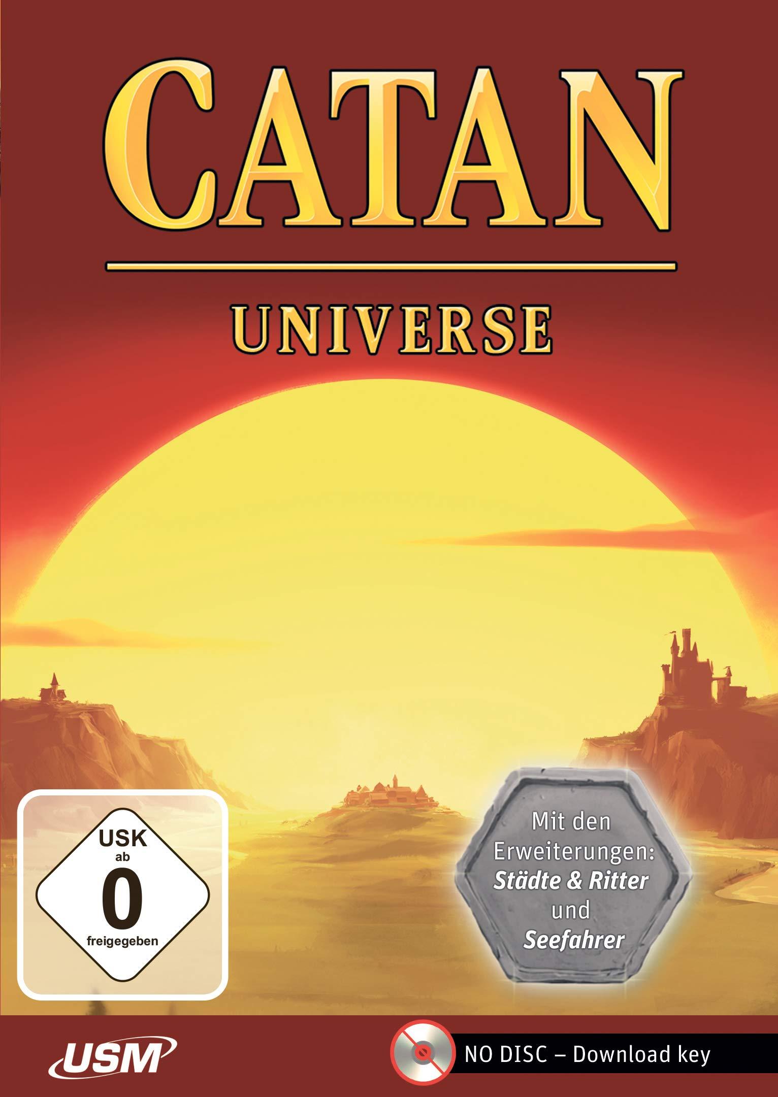 Catan Universe Box/CD-ROM: Amazon.es: Libros en idiomas extranjeros
