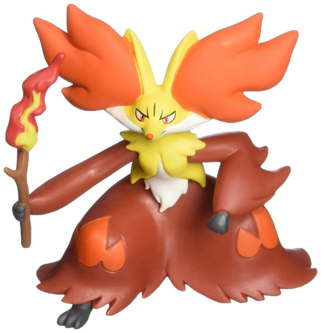 Takaratomy Official Pokemon X and Y SP 08 2.5 Delphox Action Figure Japan VideoGames 801986