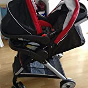 Graco Fastaction Fold Click Connect Travel System With Snugride 30 Lx Seck30lx Weave Amazon