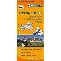 Espana Centro : Extremadura, Castilla-La Mancha, Madrid (CARTES, 15450)