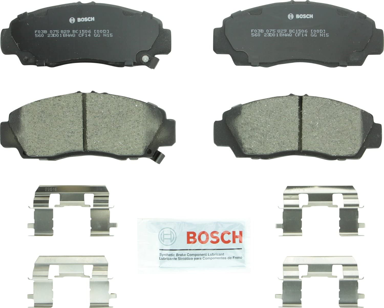 Bosch QuietCast Ceramic Premium Disc Brake Pads BH96610 FRONT + REAR SET