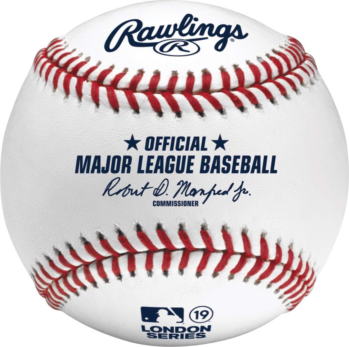 Rawlings 2019 ロンドンシリーズ レッドソックス ヤンキース 公式MLBゲーム 野球 - 箱入り