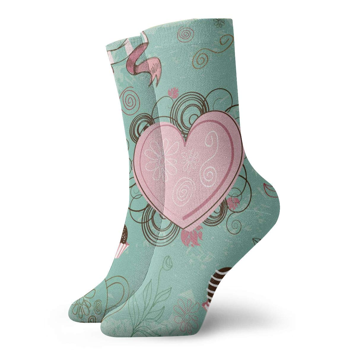 Amazon.com: WEEDKEYCAT Romantic Love Desert Adult Short Socks Cotton Cute  Socks for Mens Womens Yoga Hiking Cycling Running Soccer Sports: Home &  Kitchen