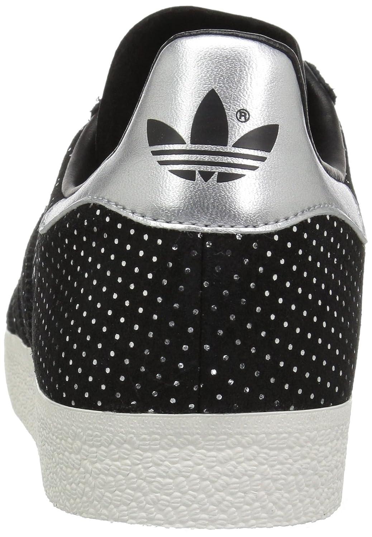 Adidas Herren Gazelle Sneaker, Sneaker, Gazelle schwarz/schwarz/Silver Metallic fe48ed