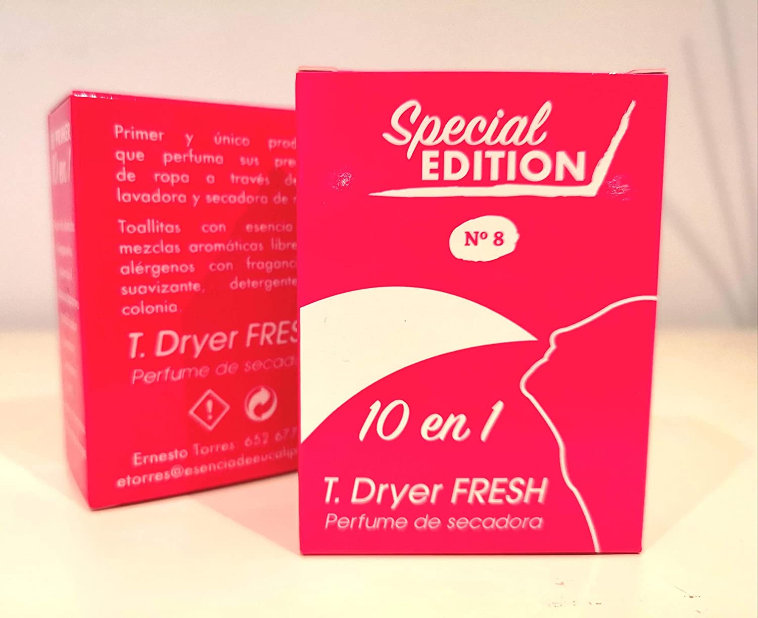 T.Dryer Fresh Parfum for tumble dryer, Perfume de Secadora.: Amazon.es: Salud y cuidado personal
