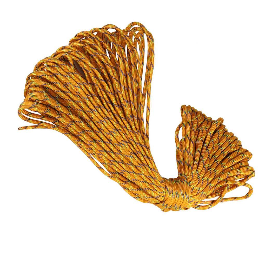 fish 100m 5 Millimetri 7-Core Tenda da Campeggio Fix Tessitura Binding Umbrella Corda Intrecciata Cavo Esterno Domestico Lifeline