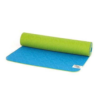 ReYoga - ReMat Soft Tapete de Yoga ecológico 6 mm (Azul ...