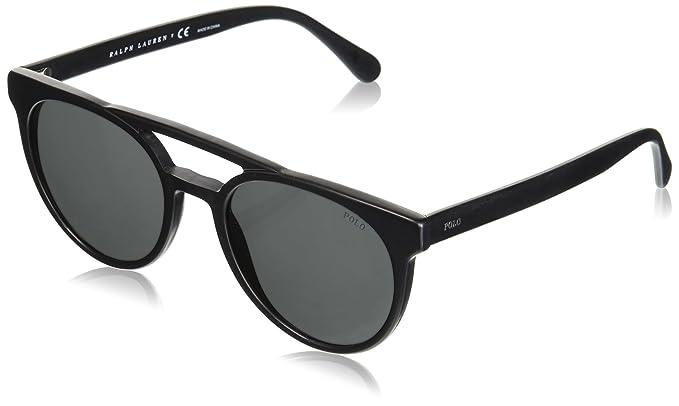 Polo 0PH4134 Gafas de sol, Wrap, 53, Vintage Black: Amazon ...