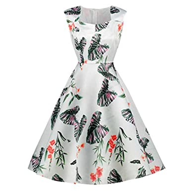 Processes Print Plant Sakura Dresses Female Retro Vintage 50S 60S Casual Party Robe Rockabilly Dresses Vestidos