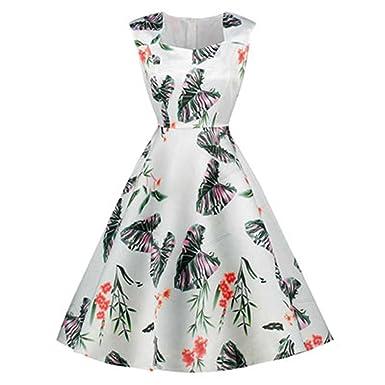 Processes Print Plant Sakura Dresses Female Retro Vintage 50S 60S Casual Party Robe Rockabilly Dresses Vestidos