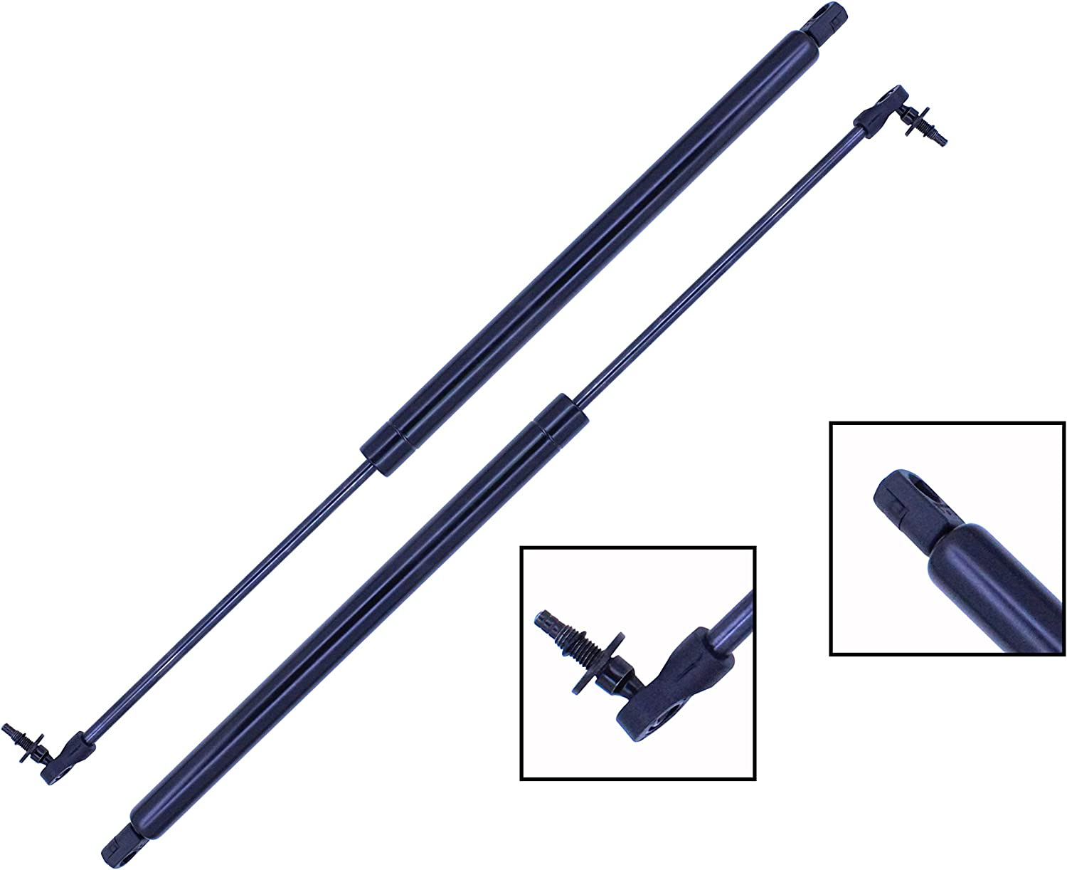 2 Pieces Pontiac Trans Sport SET Tuff Support Liftgate Lift Supports 1990 To 1991 Chevrolet Lumina APV Oldsmobile Silhouette