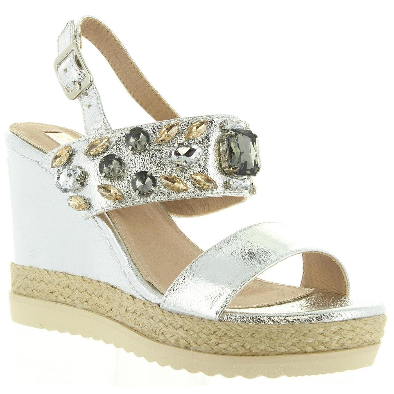 Sandales pour Femme XTI 30612 METALIZADO PLATA aCRTx7cdd