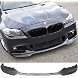 Pre-painted Front Bumper Lip Fits 2012-2016 BMW 5 Series | V Style