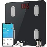 Amazon Price History:Etekcity Digital Body Weight Scale, Smart Bluetooth Body Fat BMI Scale, Bathroom Weighing Scale Tracks 13 Key Fitness…