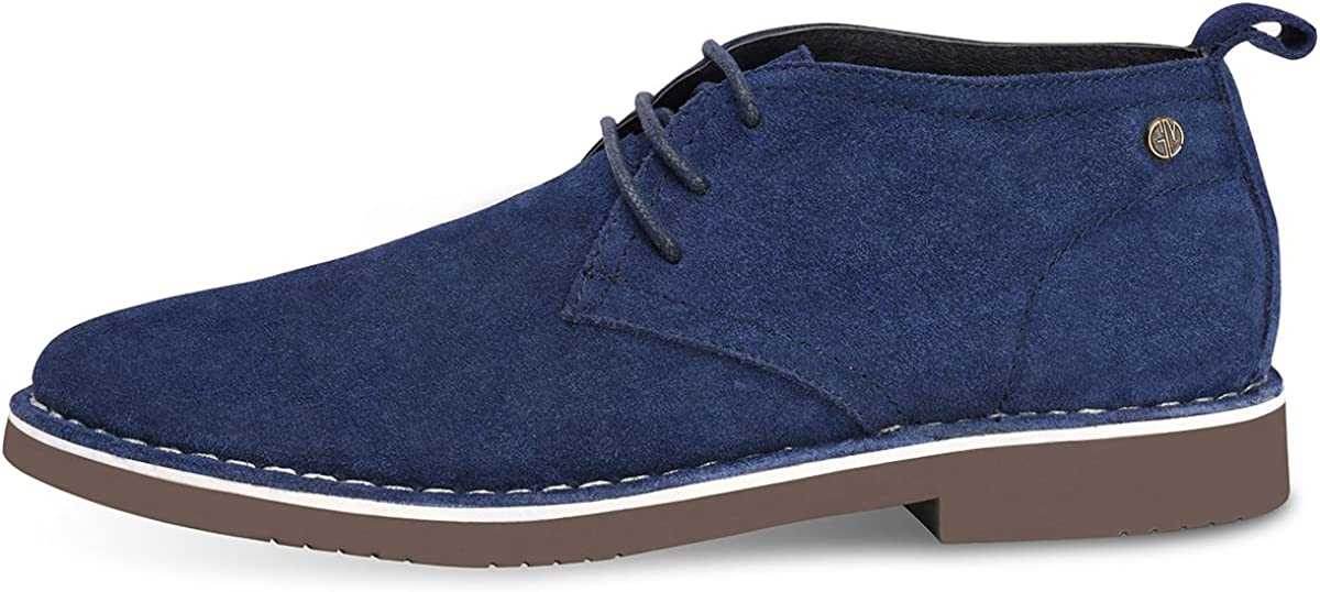 GM GOLAIMAN Mens Chukka Boots Casual Suede Desert Shoes