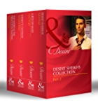 Desert Sheikhs Collection: Part 2: Desert Warrior / A Bed of Sand / Sheikh's Castaway / The Sheikh & the Princess in Waiting (Mills & Boon e-Book Collections)