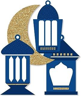 product image for Ramadan - Lantern Decorations DIY Eid Mubarak Party Essentials - Set of 20