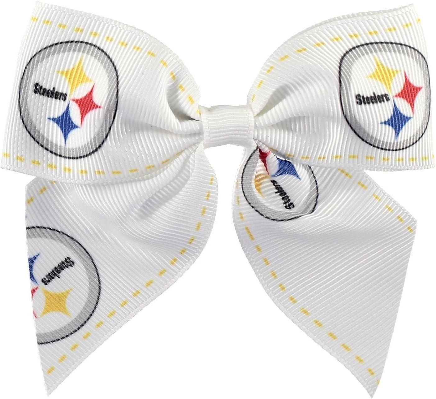 NFL Dallas Cowboys 2-Tone Bow Hair Clip