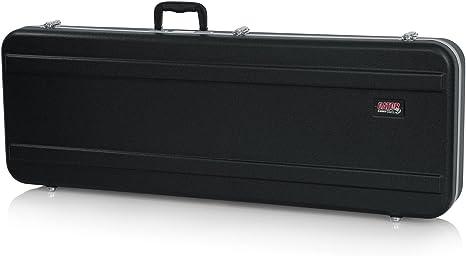 GATOR GC-ELEC-XL - Estuche para guitarra eléctrica de ABS (interior moldeado), color negro, Guitarra XL: Amazon.es: Instrumentos musicales