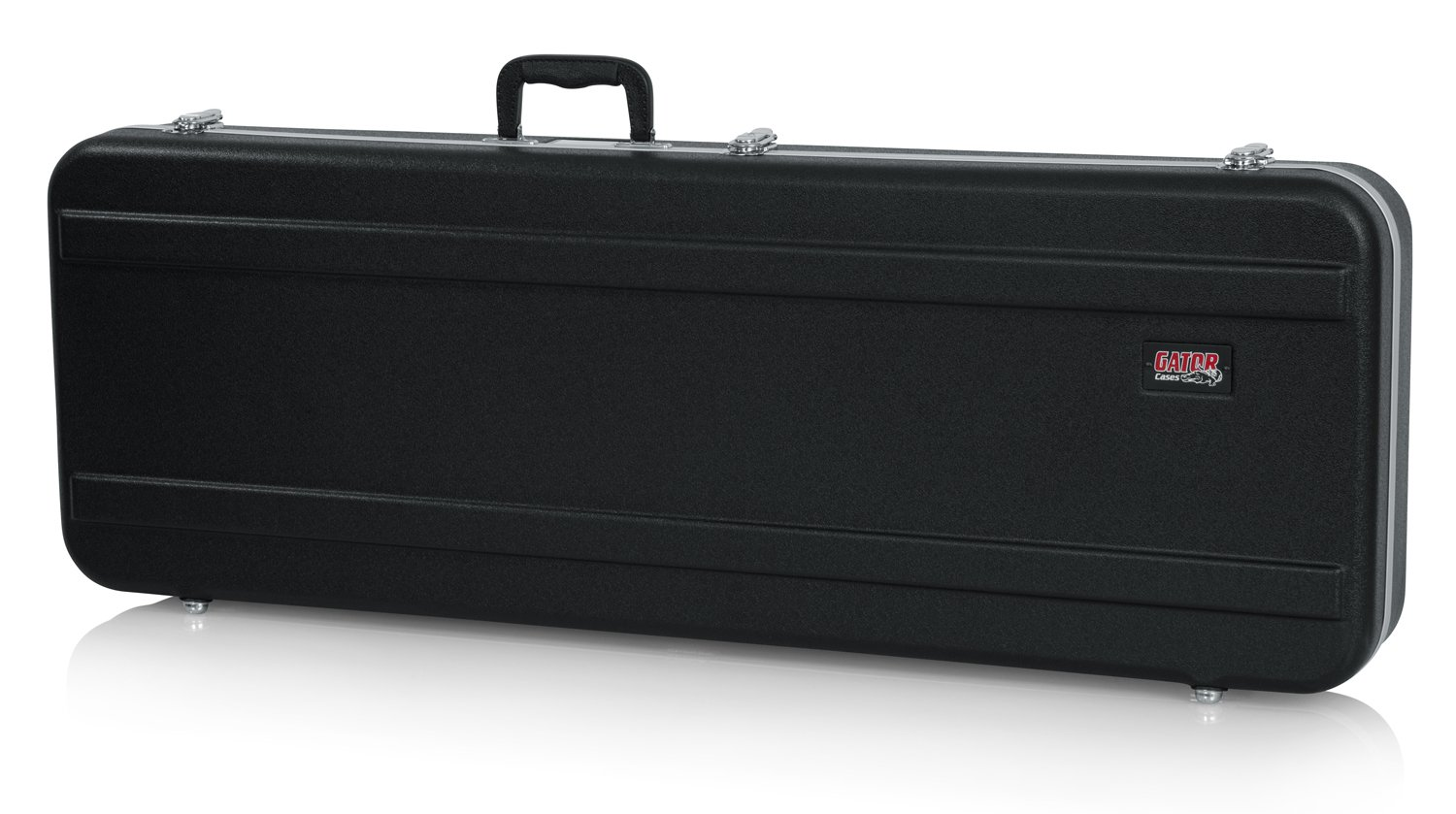 Gator Cases Deluxe ABS Molded Case for Extended Length/Extra Long Electric Guitars; (GC-ELEC-XL) by Gator