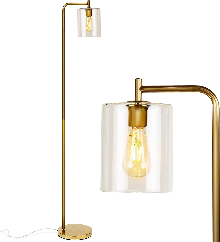 Industrial Vintage Style Standard Lamp /& LED Filament Lamp